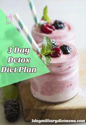 3-tägiger Detox-Diätplan | Wie mache ich eine Ca…