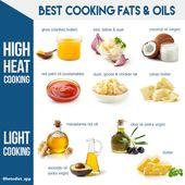 Lista de alimentos de la dieta cetogénica: qué comer y qué evitar: grasas y aceites para cocinar …