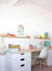 20+ coole und günstige IKEA Desk Hacks