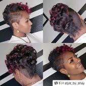 Style from @stylz_by_shay von Salon und Spa Galleria Arlington in Arlington, Texas #Repost @stylz_by_shay ・ ・ ・ Neues Jahr, aber die Tötung nicht … #sho …
