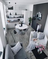 Diy Apartment Decorations Living Room Small Spaces 57+ Ideas