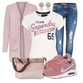 Blush Ladies Outfit – Complete Leisure Outfit – Buy Cheap FrauenOutfits.de