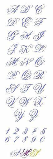 Tattoo-Schriften Schreibschrift Kalligraphie 46 Ideen für 2019