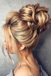 Derfrisuren.top 15 Pretty Chignon Bun Hairstyles to Try pretty hairstyles chignon Bun