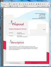 Property Management Services Proposal  Create Your Own Custom