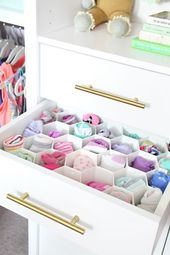 41 Before & After: Organized Girl's Bedroom Closet