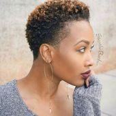 Douces coiffures noires 2019