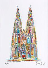 Köln / Cologne – Kölner Dom / Cologne Cathedral …