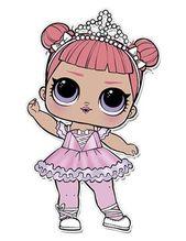Center Stage Lol Doll Coloring Page Lol Surprise Doll Colo Kartka Koristuvacha Elena Kostackowa U Yandeks Kolekciyah Lol Dolls Lol Doll Party