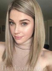 Wollte mehr klobige blonde Strähnen. – #Blonde #Chun …