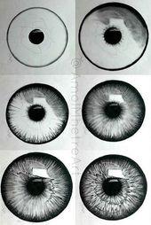20 erstaunliche Ideen für das Augenzeichnen und Inspiration – helleres Handwerk