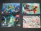 4 X 90er Jahre LEGO Katalog Katalog Booklet Handbuch Faltblatt TOWN SPACE CASTLE …   – Like