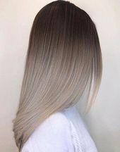 Ombre Frisur Natural Ombre # Naturalombre #Fireombre #GreyOmbreHairModels # 1 …   – My Blog