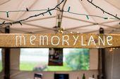 Een persoonlijke memorylane op je bruiloft   #memorylane #bruiloft #wedding #fes…