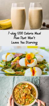 7-day 1200 Calorie Meal Plan That Won't Leave You Starving – Nutrition