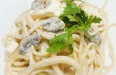 pâtes à la sauce légère au yaourt et aux champignons WW   – ww