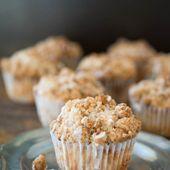 Sauerrahm Kaffee Kuchen Streusel Muffins  – Deserts