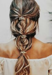 34 belles coiffures de mariage tressées pour la mariée moderne