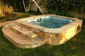 hot tub landscaping – Google Search – Garten