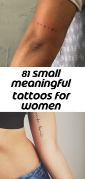 81 small meaningful tattoos for women permanent and temporary tattoo designs 20