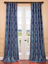 Half Price Drapes Romanian Iridescence Embroidered…