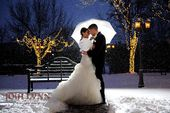 Winter weddings are so romantic!