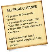 Allergie cutanée : Mes recettes simples avec les huiles essentielles – Huiles Essentielles Aromatherapie