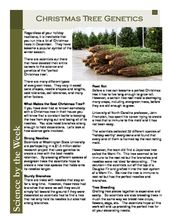 Christmas Tree Science:   Leveled Informational Text
