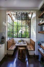 80+ Stunning Rustic Farmhouse Dining Room Set Furn…