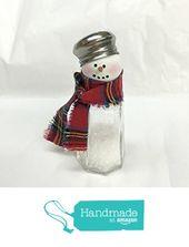 Salz- & Pfefferstreuer Schneemann von Cosy Expressions www.amazon.com / … #handmadea …   – snowman