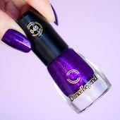 The Most Ultra Violet Nail Polish: Purple Glitter Rain