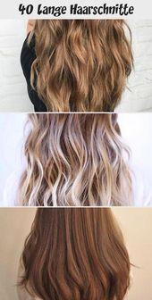 40 Lange Haarschnitte