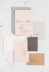 Invitations  My Dear Paper - Papeterie et faire part de mariage OPERA - Blog mariage : La mar...