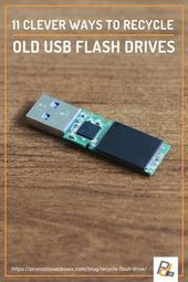 11 Clever Ways To Recycle Old USB Flash Drives