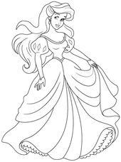 Disney Princess Coloring Pages Free