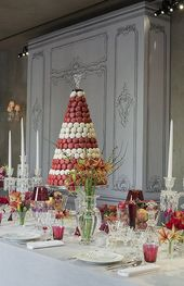 macaron piece montee mariage pyramide - Piece Mont Mariage