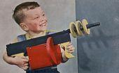 50er Jahre Spielzeugpistole #kids #toys #vintage