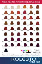 Wella koleston perfect hair color chart styles pinterest also aksuy  eye rh