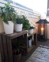 75 stilvolle Wohnung Balkon Deko-Ideen
