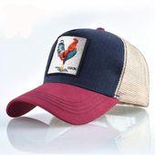 Top fashion baseball cap für männer frauen sommer mesh stickerei cock trucker knochen snapback hip hop hut casual baumwolle casquette   – Clothing/Shoes/Gear/Etc.