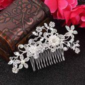 Bridal Floral Vine Haarkamm