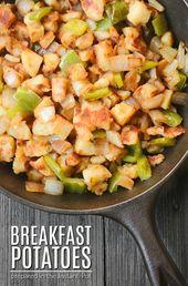 Las papas para el desayuno son una receta fácil de preparar. Están preparados y marinos …   – Vegan Life