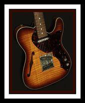 Fender Custom Shop Masterbuilt John English Thinline Telecaster Electric Guitar Telecaster Guitar Fender Custom Shop