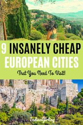 9 Insanely Low cost European Cities