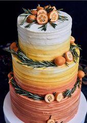 The 50 Most Beautiful Wedding Cakes   – Blumen, Frisuren für Hochzeit, ,Torten,