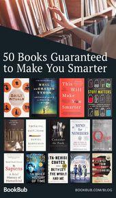 52 Bücher, die Sie schlauer machen