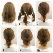Super easy updos for long hair – new hair cuts