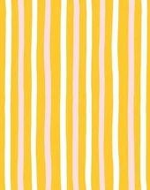 Streifentapete von Clare V., Ringelblume – #Clare #Ringelblume #Streifentapete #von #wallpaper