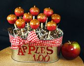 Apples w/Caramel Cake Pops $1.00   – Cake pops