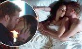El príncipe Harry besa a Meghan Markle mientras yacen desnudas en la escena del dormitorio   – Meghan Markle now and then.